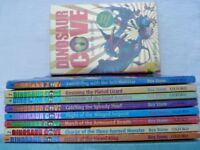 Dinosaur Cove Books 1-8 plus 'Lost in the Jurassic' by Rex Stone
