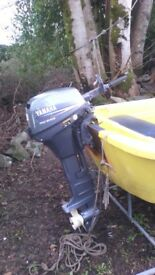 outboard 8 hp fourstroke hi thrust