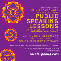 VOICE COACH: Public Speaking Lessons - CONQUER STAGE FRIGHT!