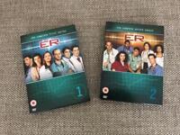 ER Series 1 & 2 on DVD