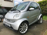 Smart Fortwo Passion, 698cc, Auto, Very Low Miles, 2005