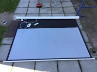72 inch Electric Projector Screen 16:9