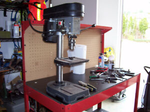 "Bench Model 5 Speed 1/2"" Drill Press"