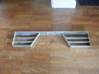 Rear door step, towbar mounted, van, camper, landrover