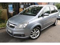 2006 Vauxhall Zafira 1.9CDTI DESIGN 150PS FSH 7 Seater Cambelt Changed Finance
