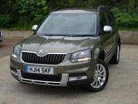 2014 Skoda Yeti Outdoor 2.0 TDI CR SE 5 door Diesel Estate