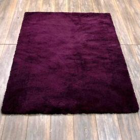 Purple Teddy Bear Rug 120cm x 170cm