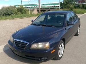 2004 Hyundai Elantra VE, Certified & E-tested! Only 121,000 km!