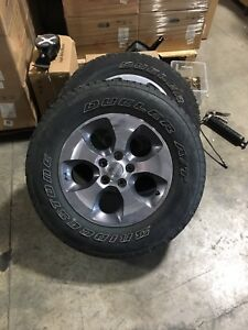 2016 Jeep wheels and rims