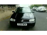 2003 VW golf 2.0 petrol gti