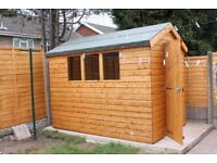 8ft x 10ft Shed New