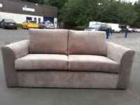 Brand New Fabric 3 Seat Sofa - Still Packaged