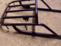 Rear rack for motorcycle 1 off a suzuki and 1 off a kawasaki both in vgc £20 each.