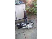 Pond and air pumps for sale