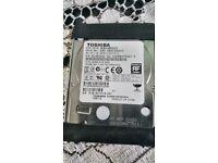TOSHIBA DISC DRIVE 750GB