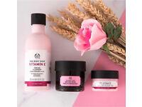 The Body Shop moisturising bundle