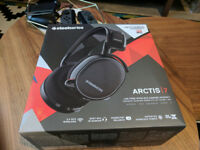 Steelseries Arctis 7 Wireless DTS 7.1 Surround Gaming Headset for PC, PS4 etc. (nearly brand new!)