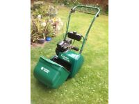 Suffolk Punch Cylinder Petrol 14S Lawn Mower - Good Condition