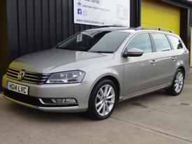 2014 (14) Volkswagen Passat 2.0 TDi 140 Executive Est Diesel *Leather & Nav*