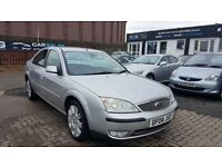 """AUTOMATIC"" FORD MONDEO GHIA X AUTO 2.0 (2004) - 5 DOOR HATCH - LEATHER - LOW MILES - HPI CLEAR!"