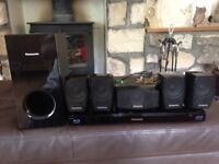 Panasonic blue ray 3D player home theatre surround sound