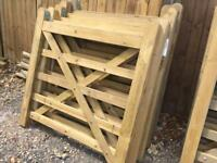 4ft wooden gates