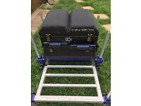 Preston Innovations On Box - Pole fishing seat box