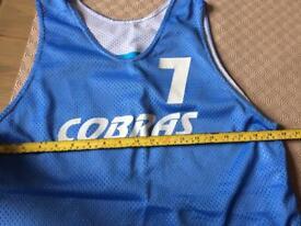 Basketball Tops and Shorts