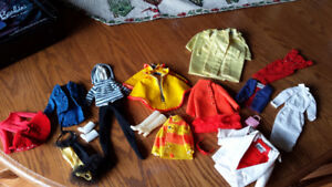 Vintage Barbie Clothes and Case Collector Items