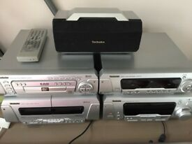 Technics Stereo system with Cinema surround sound