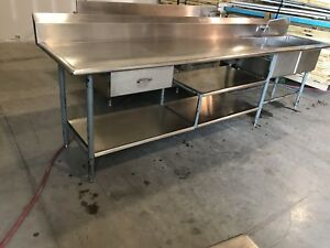 Hobart Dishwasher w/Dish Tabling & Stainless Tables
