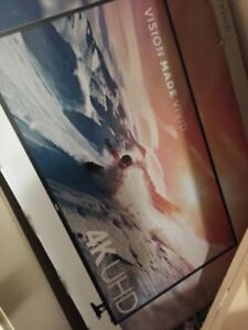 """4k uhd 43"""" haier only one month old mint $350"""