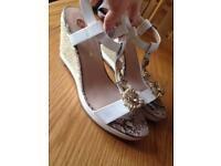 Brand new river island wedge uk7