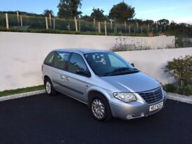 7 Seater Chrysler Voyager MOT until March 2017 One Owner From New