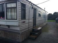 Static caravan mobile home