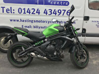 Kawasaki ER6N / 650 / Naked / Commuter / Twin Nationwide Delivery / Finance