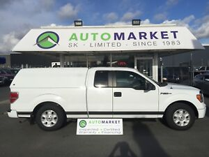 2013 Ford F-150 STX SUPER CAB 8-ft. LEATHER