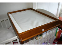 John Lewis cot top changer - unused.