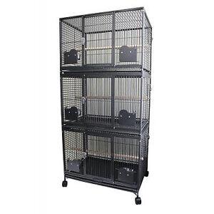 (NEW) Triple Stack Breeder Cage