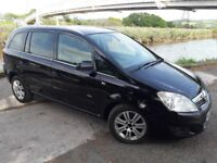 AUTUMN SALE NOW ON..7 SEATER ZAFIRA 08 REG HAS ONLY 80 K MILES..ALLOYS..ELECTRIC PACK.. MOT..HISTORY