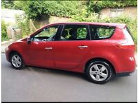 SEPTEMBER 2010 RENAULT GRAND SCENIC 1.6 VVTI **7 SEATER** FULL SERVICE HISTORY LONG MOT
