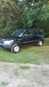 2001 cr-v low km  certified & e tested