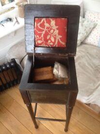 Dark Wood Sewing Box