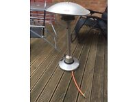 Small standing gas patio heater