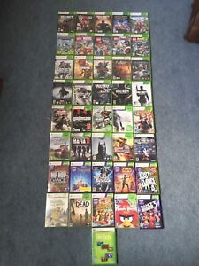 Selling Xbox 360 Games! Contact for prices