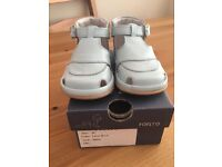 Fofito Pale Blue Leather sandals size 18