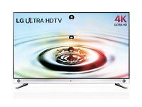 55 inch LG 55LA965W Ultra HD 4K Freeview HD Smart 3D LED TV