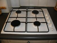 GAS HOB IN WHITE