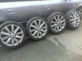 17 inch vw alloy wheels 5x100