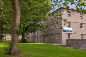 Students flats on Aberdeen University Campus £89 per week per room